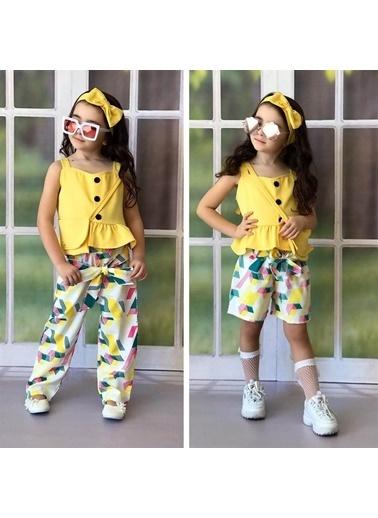 Quzucuk Kids Kız Çocuk Çok Parçalı Baharlık Kombin Renkli